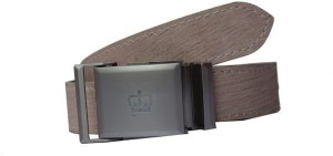Winsome Deal Men Formal, Casual Grey Artificial Leather Belt
