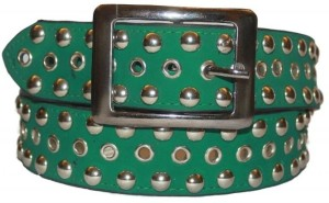 Authority Men Casual Green Genuine Leather Belt Green