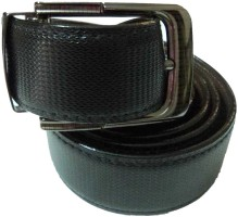 Mode Boys, Men Casual, Formal Black Genuine Leather Belt Black-15