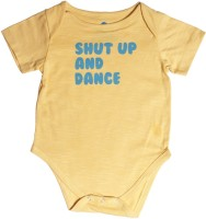Blue Bus Store Slogan Baby Boy's Bodysuit