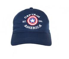 1df6f2a5fd53a Kook N Keech Marvel Embroidered Captain America Cap