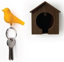 HitPlay Sparrow Keychain Key Chain Yellow