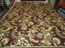 I.C Machine Made Silk Carpet