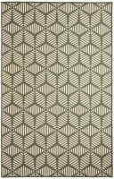 Riva Carpets Maze Flatweave Wool Area Rug Green 10121 Carpet