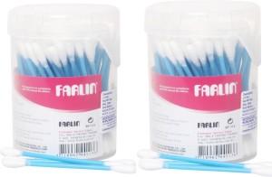FARLIN Combo of 2pcs Cotton Buds