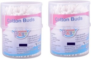MOMMAS BABY Combo of 2pcs Cotton Buds