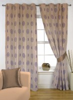Handloom Factory Tulip Collection Door Curtain