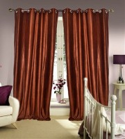 JBG Home Store Shades of Paradise Long Door Curtain Pack of 2