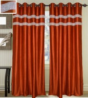 JBG Home Store Shades of Paradise Door Curtain Pack of 2