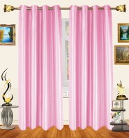 Decor Bazaar Cute Baby Pink Window Curtain