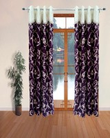 Homefab India Designer Wine Door Curtain