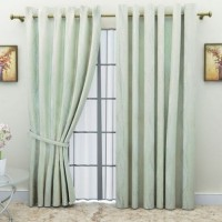 G M HomeFashion Lincraft Door Curtain