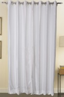 ZappyCart Best Quality of Faux Dupioni Silk Door Curtain