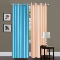 Madhav Product Shades of Paradise Door Curtain Pack of 2