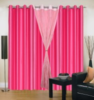 Hargunz Optimistic Window Curtain Pack of 4