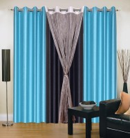 Hargunz Optimistic Door Curtain Pack of 4