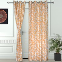 Story @ Home 100% Polyester Door Curtain Pack of 2, 210 cm in height