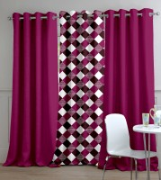 Trendy Home Diana Door Curtain Pack of 3
