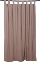 VHome Solid Loop Window Curtain