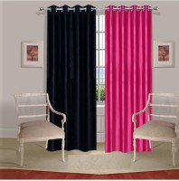 Fogg Solids Door Curtain Pack of 2