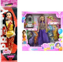 Amaya Pretty Fashion Doll52 SET of 2 Multicolor