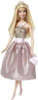Barbie Modern Princess Doll Pink, Gold