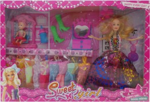 Toy Mall Fashion Doll Set XY004B1-M Multicolor