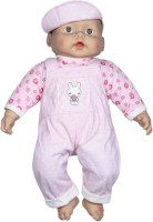 Luvable Friends Girl Baby Toy Pink, White