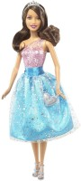 Barbie Modern Princess Doll Pink, Blue