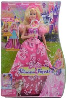 Barbie The Princess and The Pop Star Transforming Doll Multicolor