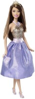 Barbie Modern Princess Doll Blue, Gold