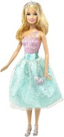 Barbie Modern Princess Doll Green, Pink