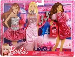 Barbie Fashionista Doll - Party Pink