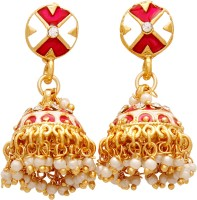 Jewel House Festive Bling Copper Jhumki Earring