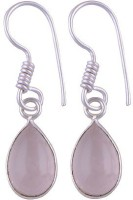 Silver Prince Designer K Quartz Alloy Dangle Earring