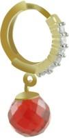 SuperShine Jewelry Sparkle Brass Dangle Earring