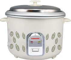 Sowbaghya Annam Plus 1.8 L Rice Cooker White