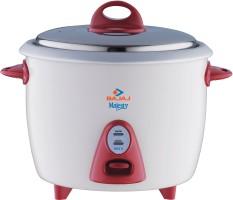 Bajaj Majesty RCX 3 1.5 L Rice Cooker White