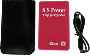 S.S.Power USB 2.0 -R 2.5 inch Laptop Internal Hard Drive Enclosure