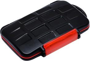 E LV SDHardCase-Black 4 inch Memory Card Case