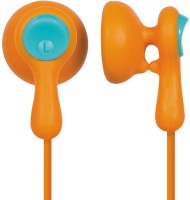 Panasonic RP-HV41GU-D Wired Headphones Orange, In-the-ear