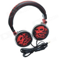 Havit HV-H83D Wired Headset Red