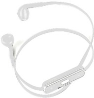 Alexis24 Bluetooth White Wired Bluetooth Headset White