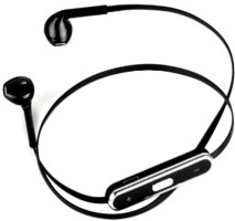 Alexis24 Bluetooth Black Wired Bluetooth Headset Black