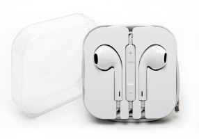 Gargi Compatible For Apple iPhone 4 ,4S ,5,5C,5S Wired Headset White
