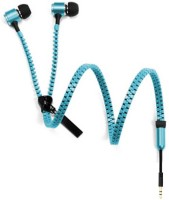 Alexis24 Zipper 5d2j Wired Headset Blue