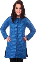 91d71902c0afb Lavennder Full Sleeve Printed, Solid Reversible Women's Quilted Reversible  Jacket