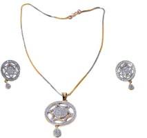 Avani Industries Elegant With Combo Of Alloy Jewel Set Silver