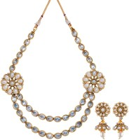 Fabroop Fashion Alloy Jewel Set White