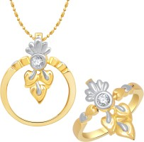 VK Jewels Ravishing Alloy Jewel Set Gold